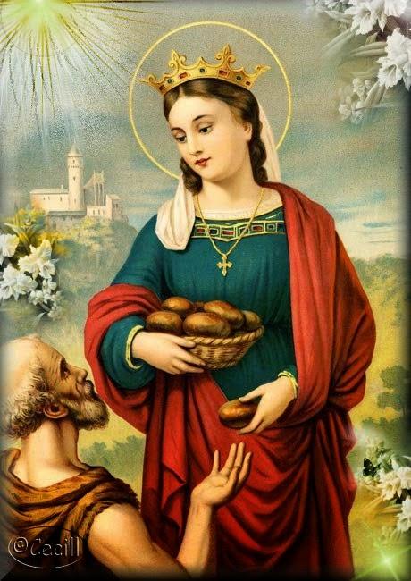 Santa Isabel de Hungria – Padroeira das Irmãs Franciscanas de Allegany