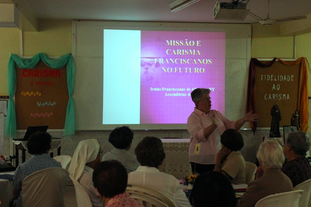 Assembleia de Novembro reúne Franciscanas de Allegany da Região Brasil