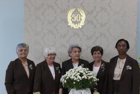 Franciscanas de Allegany celebram Jubileu de Ouro de seis irmãs